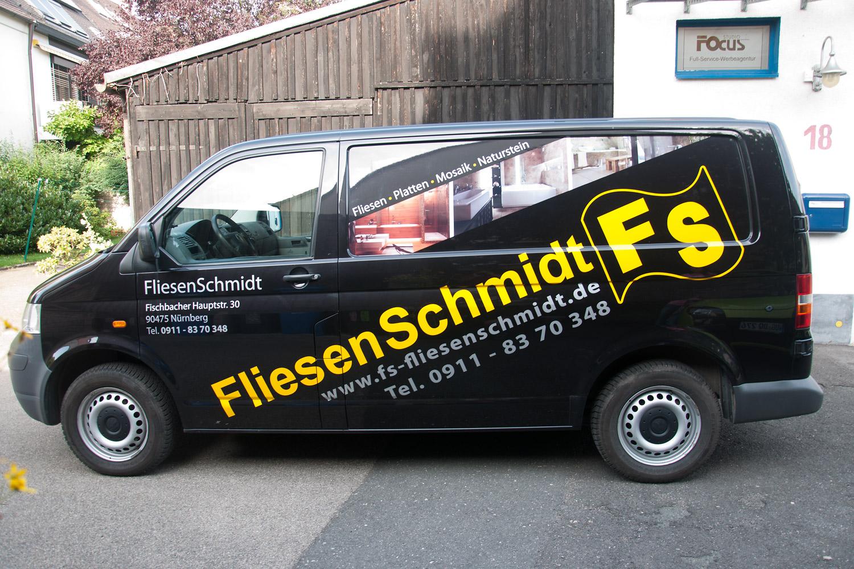 Flottenbeklebung fliesen schmidt werbeagentur focus - Fliesen schmidt rudersdorf ...