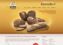 Webseite | Bäckerei Nusselt GmbH