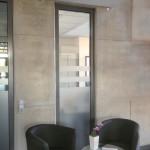 Sichtschutzbeklebung bei der Firma Peri GmbH