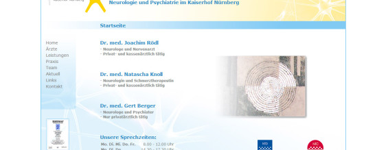 Webseite | Neurologie Kaiserhof