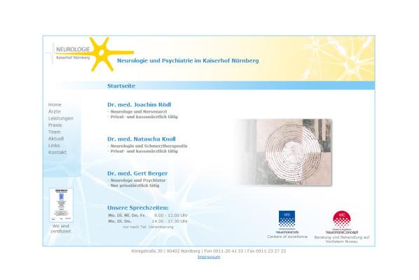 werbeagentur-focus-nuernberg-neurologie-kaiserhof-webseite