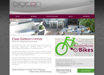 Webseite | Gideon Hotel