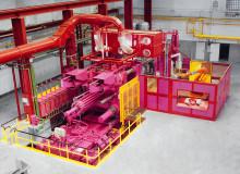 Industriefotografie   Hydraulikpresse