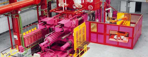 Industriefotografie | Hydraulikpresse