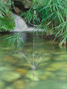 Werbefotografie vom Fotostudio Focus für Wasserspiele Koolman, inklusive Retusche und eventueller Montage.