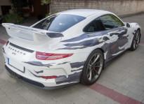 Fahrzeugbeklebung | Porsche GT3