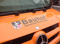 Flottenbeklebung | Bauhof Rückersdorf