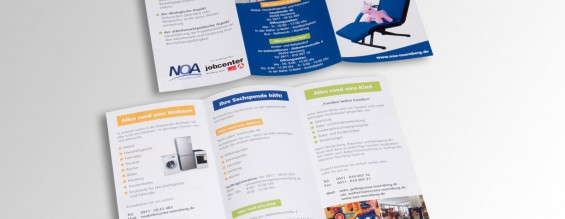 Informationsflyer | NOA Noris Arbeit