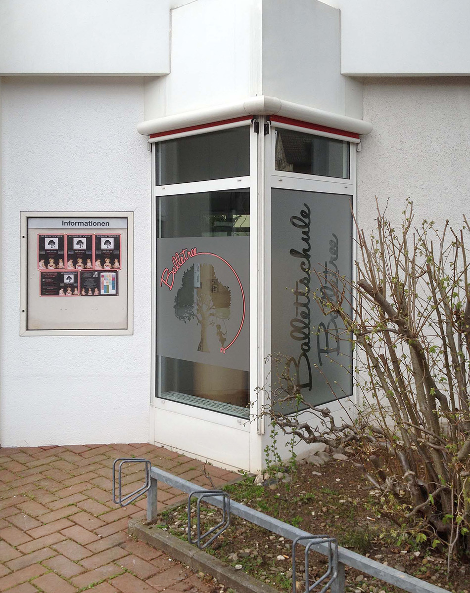 Werbeagentur Focus Nuernberg Balletree Komplettbeklebung