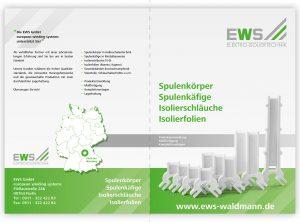 Außenseite der EWS Imagebroschüre
