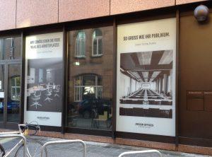 Moderner Sichtschutz für Design Offices