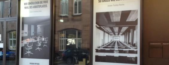 Bedruckte Milchglasfolie | Design Offices