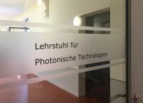 Türbeklebung | Uni Erlangen