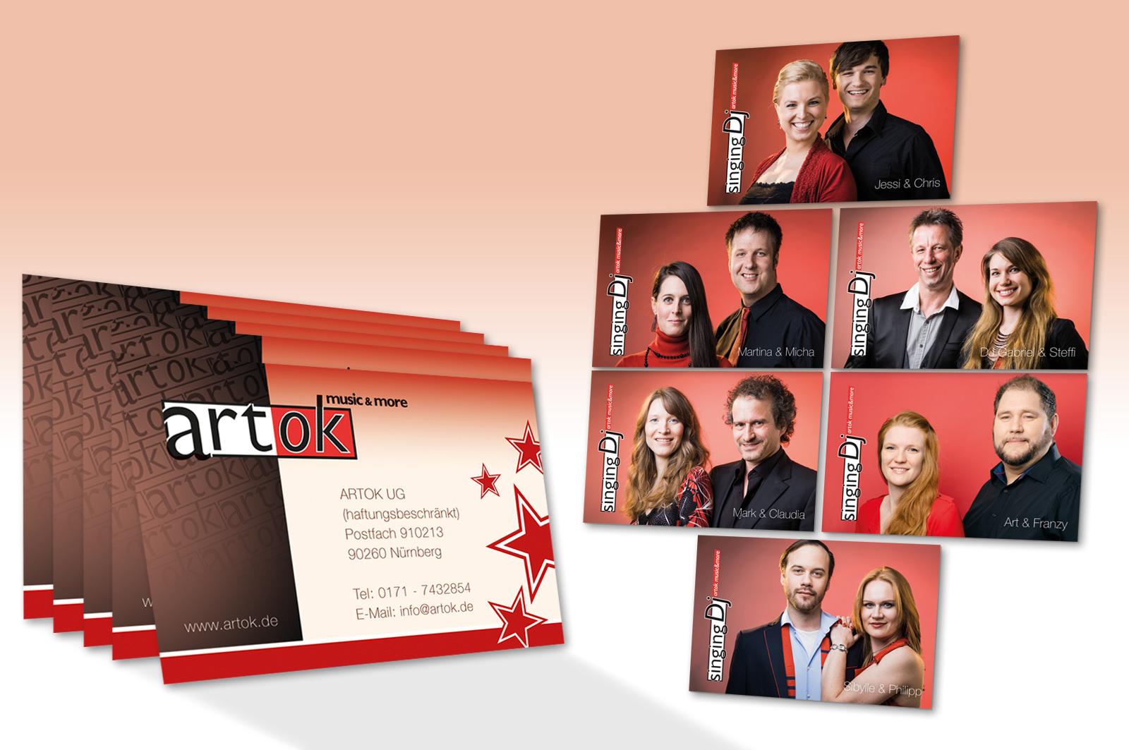 Visitenkarten Artok Ug Werbeagentur Focus Ihre