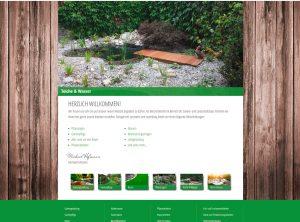 Bild der Startseite von landschaftsbau-hofmann.de