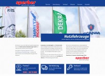 Webseite | Sperber Nutzfahrzeuge
