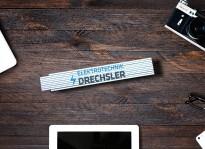 Bedrucktes Metermaß | Elektrotechnik Drechsler