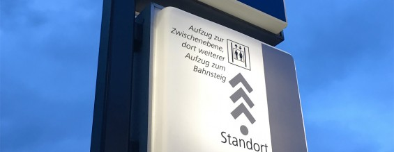 Folierungsarbeiten U-Bahnhof Eberhardtshof