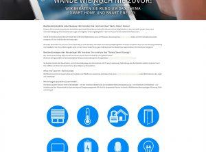 Scrrenshot der stapp Homepage