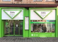 Laden-Beklebung | Saleo Naturpflege