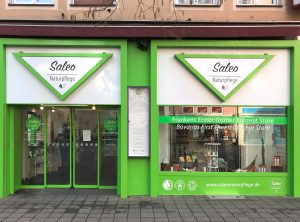 Eingangsbereich von Saleo in Nürnberg