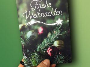 Weihnachtskarte 2018 für Hofmann Garten- und Landschaftsbau