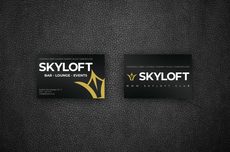 Visitenkarte für Skyloft