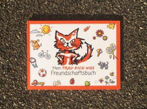 Freundschaftsbuch geschlossen für TRAU DICH WAS