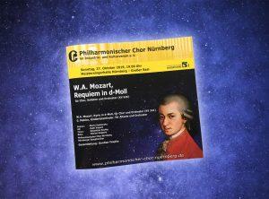 Broschüre für den Philharmonischen Chor Nürnberg
