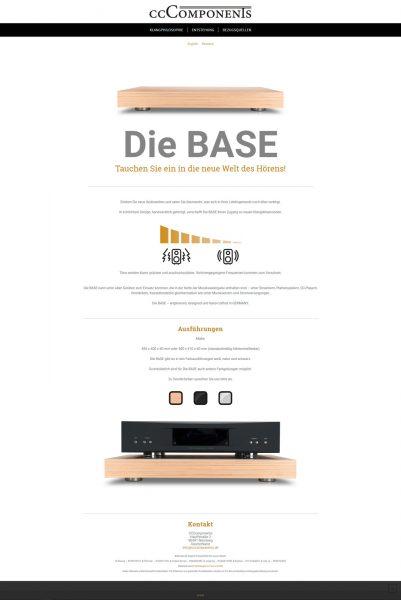 Homepage von die Base
