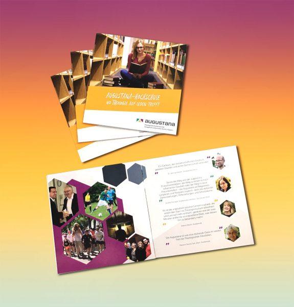 Imagebroschüre für die Augustana Hochschule