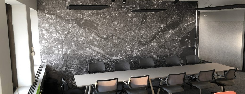 Gestalten Sie Ihre Räume mit XXL-Wandfolien.