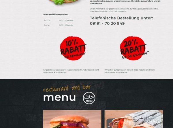 Screenshot der Startseite der Homepage von Skyloft.club